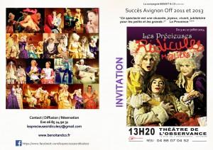 petite invitation Avignon2014
