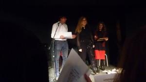 Karawane interprété par Sylvie Benoit et les auditeurs....